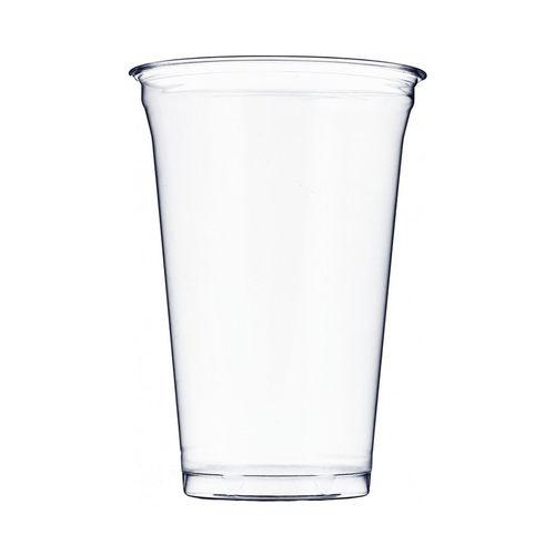 Copo Plástico PET 550ml - Aferidos a 400ml - s/Tampa - Cx Completa 896 unidades