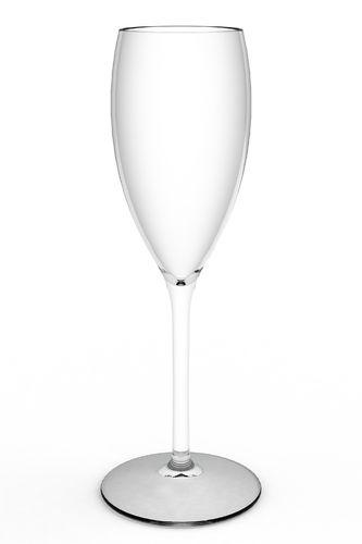 Copo Flute/ Champagne Inquebrável 180 ml (Tritan) cx Completa 12 unidades