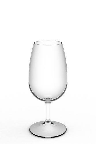 Copo Vinho Porto 220 ml Tritan inquebrável Cx 12 uni