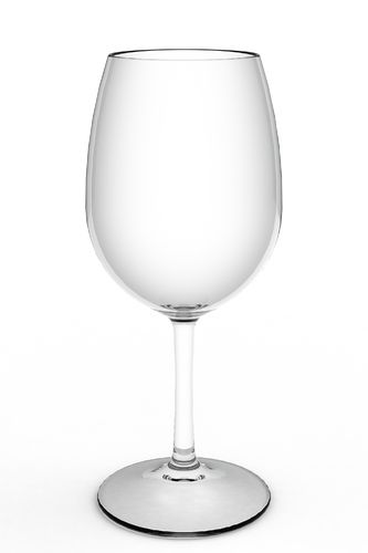 Copo Vinho / Agua 450 ml Tritan Cx 12 uni