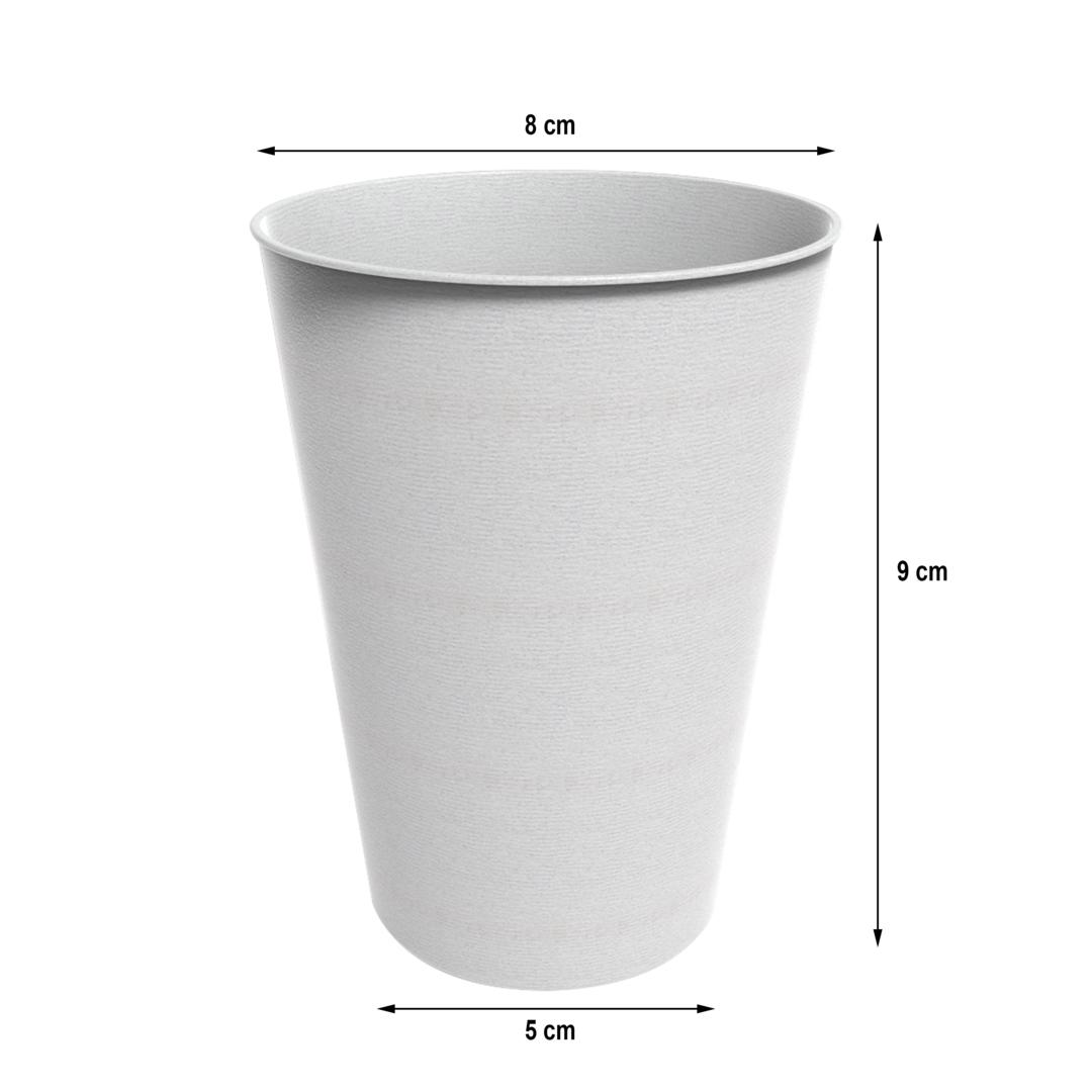 Copo Biodegradável - 260ml - Pacote 25 Unidades