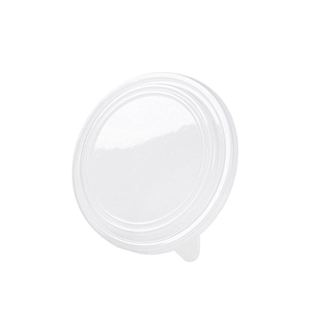 Saladeira em Cartão Kraft c/ Tampa PP 750ml - Pacote 50 unidades