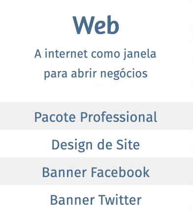 Web - A internet como janela para abrir negócios
